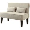 A&J Homes Studio Upholstered Entryway Bench