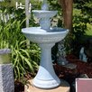 Fiberglass Solar Dual Pineapple Tiered Fountain with Light - SunnyDaze Decor Indoor and Outdoor Fountains