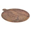Host Melamine Rustic Wood Pizza Platter