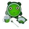 Junior D Nettle the Monster Children 4 Piece Dinnerware Set