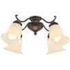 Wind River Estela 4 Light Branched Ceiling Fan Light Kit