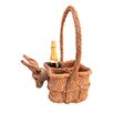 Artesania San Jose Square Basket For Bottles