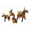 Artesania San Jose Donkey Figurine (Set of 6)