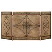 ABC Home Collection Vintage Metal Fireplace Screen