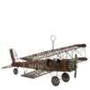 ABC Home Collection Vintage Model Wireframe-Wing USA 23 Plane