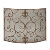 ABC Home Collection 3 Panel Iron Fireplace Screen