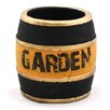 Garden Clay Barrel Planter - Size: 3.5 inch High x 3 inch Wide x 3 inch Deep - WGV International Planters