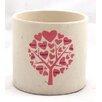 Ceramic Pot Planter - Color: Pink - WGV International Planters