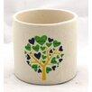 Ceramic Pot Planter - Color: Green - WGV International Planters