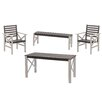 TammerTukku 4 Seater Dining Set (Set of 2)