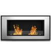 Elite Flame Tulsa Ventless Wall Mount Bio Ethanol Fireplace Insert