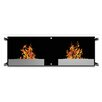 Elite Flame Mora Ventless Wall Mount Bio Ethanol Fireplace Insert
