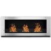 Elite Flame Lenox Ventless Wall Mount Bio Ethanol Fireplace Insert