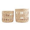 House Doctor Everyday 2016 2 Piece Weave Basket Set