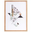 House Doctor Everyday 2016 Marble Illustration Abstract Framed Graphic Art