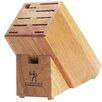 J.A. Henckels International 11-Slot Hardwood Knife Block
