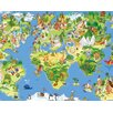 Ohpopsi World Wonders Wall Mural