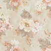 Galerie Home Vintage Damask Rose 10m L x 53cm W Roll Wallpaper
