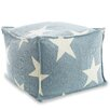 Fresh American Star Indoor/Outdoor Pouf Ottoman