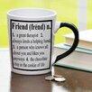 New Morning Imports 20 oz Friend Definition Stoneware Coffee Mug