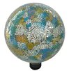 Mosaic Gazing Globe - Color: Blue/Yellow - Gardener Select Garden Statues and Outdoor Accents