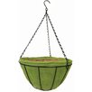 Basket 14 inch Metal Hanging Planter with Coco Liner - Gardener Select Planters