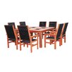 Lautan LLC Kiama 9 Piece Dining Set with Cooler