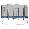 Newacme LLC 15' 6 Legs Trampoline with Enclosure Net