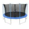Newacme LLC 16' Trampoline with Inner Enclosure Net