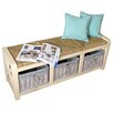 Breakwater Bay Westport Wood Storage Hallway Bench