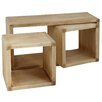 Breakwater Bay Ayer 3 Piece Cube Nesting Table