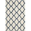 Breakwater Bay Beacon Falls Hand-Tufted Ivory Area Rug