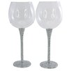 Aulica Deluxe Diamond Wine Glasses (Set of 2)