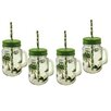 Aulica Leave Handle Jar (Set of 4)