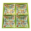 Aulica 15cm Butterfly Plate (Set of 4)