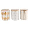 Aulica 3 Piece Canister Set