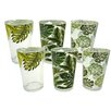 Aulica Leave 6 Piece Cup Set
