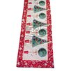 The Seasonal Aisle Tinsel Tree Table Runner