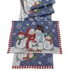 The Seasonal Aisle Snow Family Placemat (Set of 2)