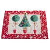 The Seasonal Aisle Tinsel Tree Placemat