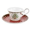 The Seasonal Aisle Fitzgerald Tea Cup and Saucer
