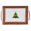 The Seasonal Aisle Fitzgerald Christmas Tray