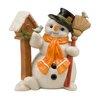 The Seasonal Aisle Figur Hier ist dein Häuschen Schneemänner