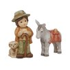 The Seasonal Aisle 2-tlg. Figur-Set Krippe Krippe / Midi Krippe