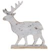 The Seasonal Aisle Washed Birch Deer Figurine
