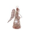 The Seasonal Aisle LED Metal Angel Hanging Figurine