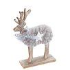 The Seasonal Aisle Reindeer With Star Figurine
