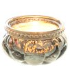 The Seasonal Aisle 6 Piece Glass Candle Dish Set