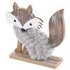 The Seasonal Aisle Woolly Fox Figurine