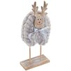 The Seasonal Aisle Woolly Reindeer Figurine